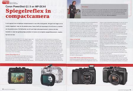 Cameratest: Canon Powershot G1 X en WP-DC44