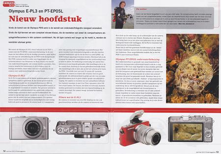 Cameratest: Olympus E-PL3 en PT-EP05L