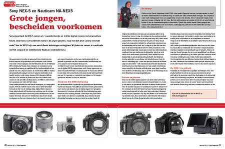 Cameratest: Sony NEX-5 en Nauticam NA-NEX5