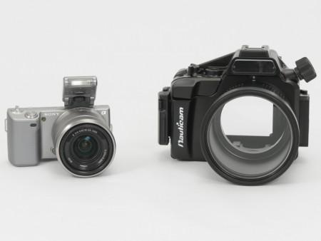 Test: Sony NEX-5 en Nauticam NA-NEX5