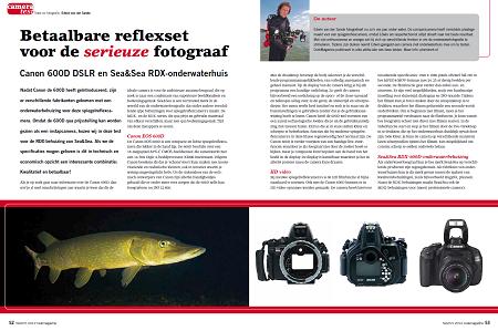 Cameratest: Canon 600D DSLR en Sea&Sea RDX-onderwaterhuis