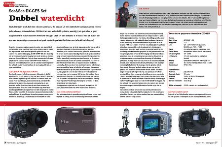 Dubbel waterdicht, test Sea&Sea DX-GE5 Set