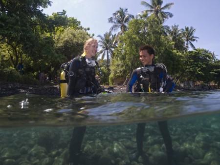 Muck diving, verrassend leuk!