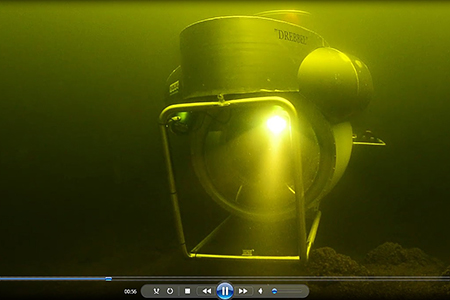Onderzeeboot varen in Vinkeveen